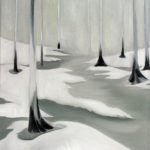 """Hämeenkyrö"" | óleo sobre lienzo | 30 x 40 cm"