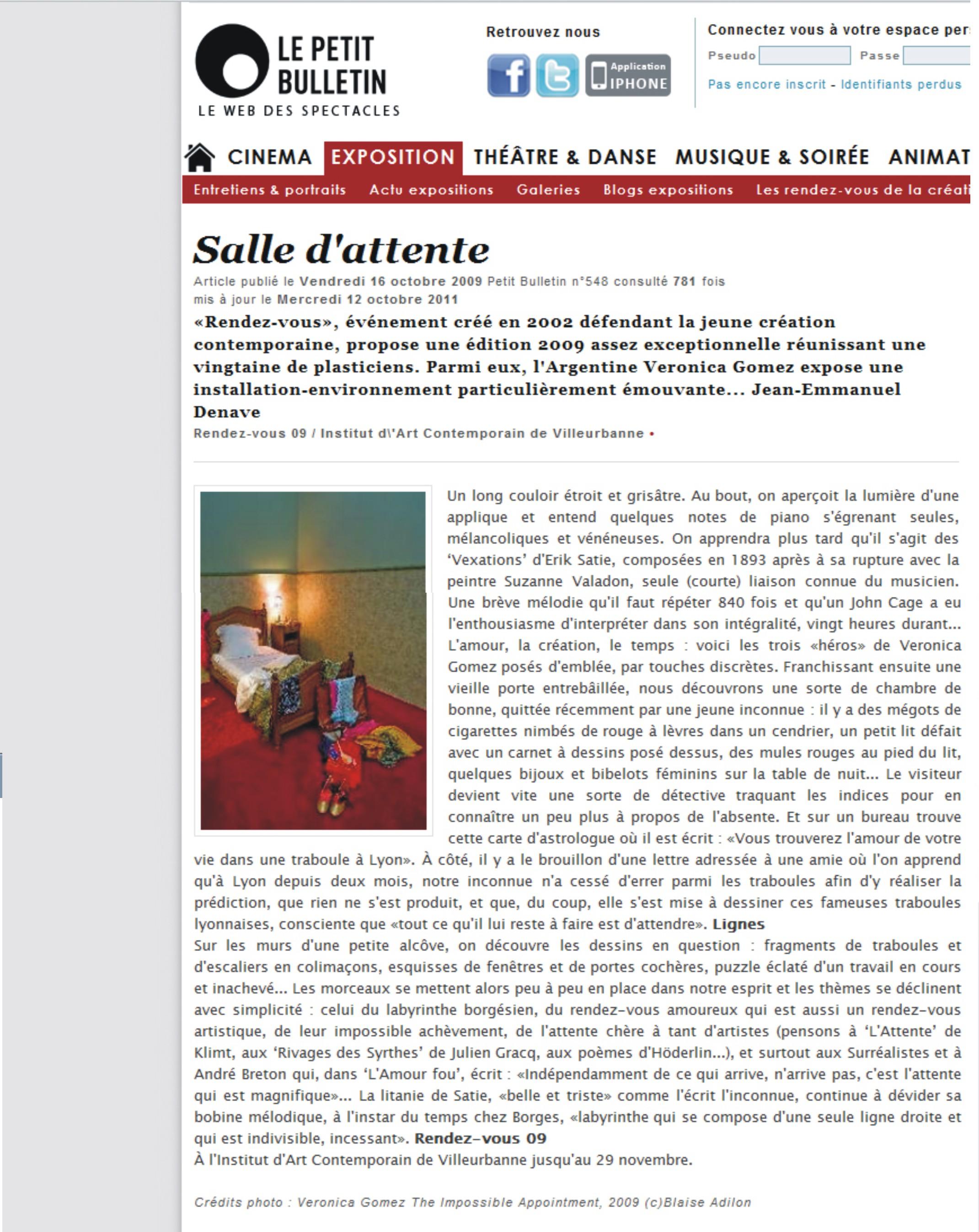 le-petit-bulletin-16-de-octubre-de-2009