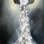 Mary Baker Eddy o el árbol de la fe | óleo sobre papel |  47 x 100 cm | 2016