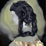 """Señorita crepuscular II"" | óleo sobre papel | 20 x 25 cm"
