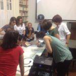 Visita al taller de Maxi Rossini