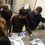 Visita al taller de Viviana Blanco