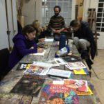 Visita al taller de Ezequiel García