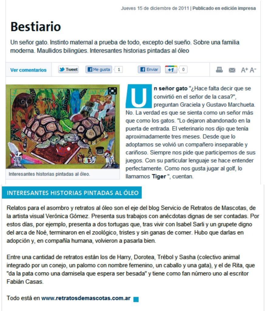 La Nación-15 de diciembre de 2011